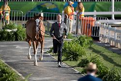 Guery Jerome, BEL, Grand Cru vd Rozenberg<br /> Horse Inspection<br /> Olympic Games Rio 2016<br /> © Hippo Foto - Dirk Caremans<br /> 12/08/16