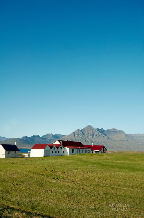 Farm near Iceland's East Fjords