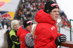 Vegard Sklett (NOR) as a spectator at Flying Hill Team in 3rd day of 32nd World Cup Competition of FIS World Cup Ski Jumping Final in Planica, Slovenia, on March 21, 2009. (Photo by Vid Ponikvar / Sportida)
