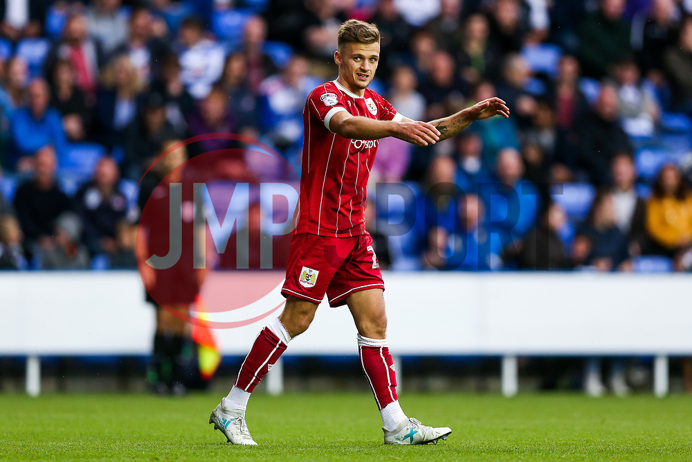 Jamie Paterson of Bristol City looks frustrated after a miss - Rogan/JMP - 09/09/2017 - Madejski Stadium - Reading, England - Reading v Bristol City - Sky Bet Championship.