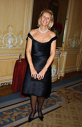 CAROLYN WATERS at the Cartier Racing Awards held at the Four Seasons Hotel, Hamilton Place, London W1 on 16th November 2005.<br />