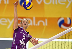 21-02-2016 NED: Bekerfinale Eurosped TVT - Set Up 65, Almere<br /> Judith Kamphuis #3 of Eurosped