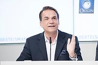 27 MAR 2018, BERLIN/GERMANY:<br /> Markus Dohle, Chief Executive Officer von Penguin Random House, Bertelsmann Bilanzpressekonferenz, Konzernrepraesentanz Berlin, Unter den Linden 1<br /> IMAGE: 20180327-01-016