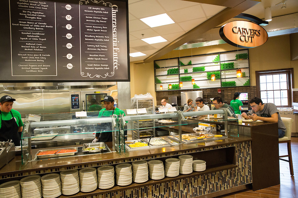 Carver's Cut is one of the many options for studnets to choose from at the new Boyd Dinning hall.