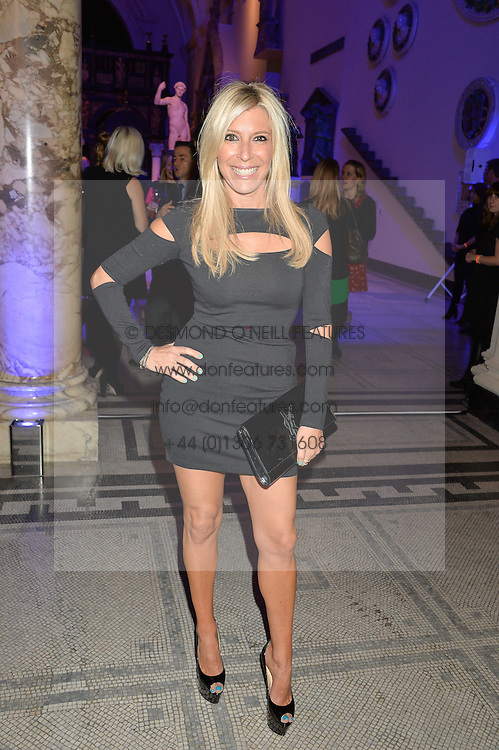 RACHEL ZALIS at a private view of Alexander McQueen's Savage Beauty exhibition hosted by Samsung BlueHouse at the V&A, London on 30th March 2015.