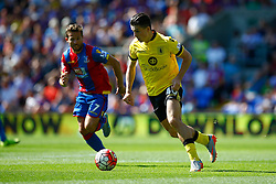 Jack Grealish of Aston Villa takes vila forward - Mandatory byline: Jason Brown/JMP - 07966386802 - 22/08/2015 - FOOTBALL - London - Selhurst Park - Crystal Palace v Aston Villa - Barclays Premier League