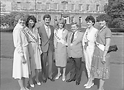 Roses of Tralee at Leinster House.26/08/1983