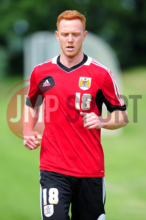 Bristol City's Ryan Taylor - Photo mandatory by-line: Dougie Allward/JMP - Tel: Mobile: 07966 386802 27/06/2013 - SPORT - FOOTBALL - Bristol -  Bristol City - Pre Season Training - Npower League One