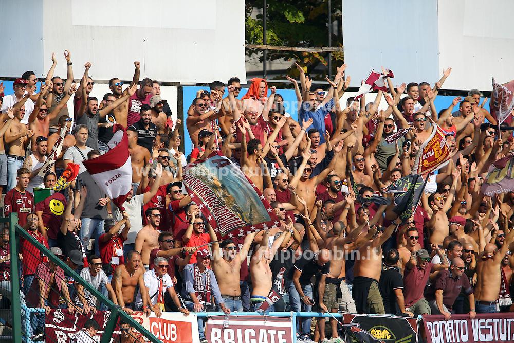 GOAL ALFREDO DONNARUMMA<br /> SPAL - SALERNITANA<br /> CAMPIONATO CALCIO SERIE B 2016-2017<br /> FERRARA 01-10-2016<br /> FOTO FILIPPO RUBIN