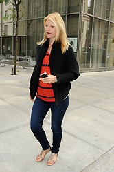 Sept. 6, 2012 - New York City, NY, USA - .September 6 2012, New York City....Actress Claire Danes, who is pregnant with her first child, leaves a Soho hotel on September 6 2012 in New York City...... (Credit Image: © Curtis Means/Ace Pictures/ZUMAPRESS.com)