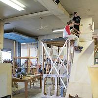 Behind-the-scenes of Sweeney Todd, Allison Corona photo