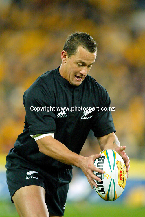26th July, 2003. Telstra Stadium, Sydney, Australia. Bledisloe Cup match.<br />