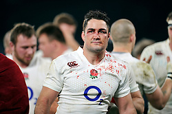 Brad Barritt of England looks on after the match - Photo mandatory by-line: Patrick Khachfe/JMP - Mobile: 07966 386802 29/11/2014 - SPORT - RUGBY UNION - London - Twickenham Stadium - England v Australia - QBE Internationals