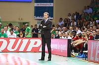 Vincent Collet  - 20.06.2015 - Limoges / Strasbourg - Finale Pro A<br /> Photo : Manuel Blondeau / Icon Sport