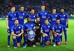 Leicester City team group - Mandatory by-line: Matt McNulty/JMP - 22/11/2016 - FOOTBALL - King Power Stadium - Leicester, England - Leicester City v Club Brugge - UEFA Champions League
