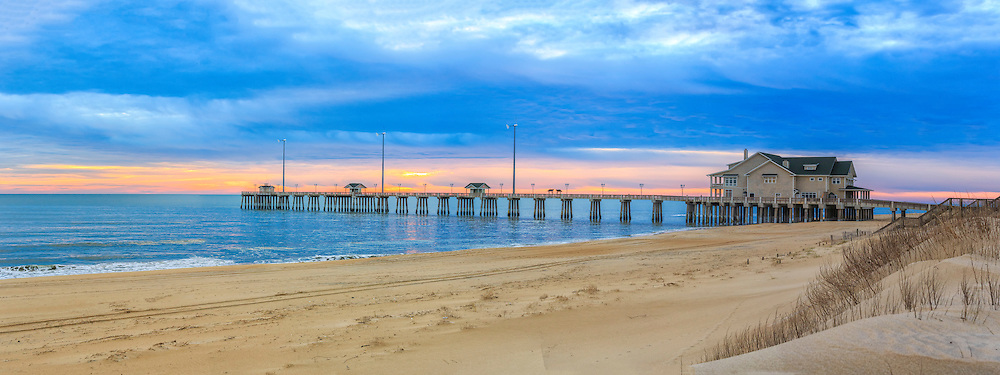 Early morning sunrise at Jeanette's fishing pier.