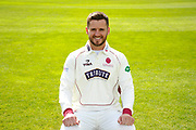 County Championship kit portrait of Steven Davies during the Somerset County Cricket Club PhotoCall 2017 at the Cooper Associates County Ground, Taunton, United Kingdom on 5 April 2017. Photo by Graham Hunt.