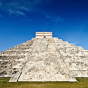 El Castillo (also known as Temple of Kuklcan) at the ancient Mayan ruins at Chichen Itza, Yucatan, Mexico 081216092634_1915.NEF