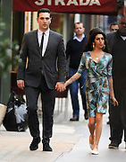 31.MAY.2010 - LONDON<br /> <br /> **THESE PICTURES ARE EXCLUSIVE**<br /> <br /> AMY WINEHOUSE PROVES ONCE AND FOR ALL THAT HER MARRIAGE TO BLAKE FIELDER-CIVIL IS FINALLY OVER, AS HER AND HER NEW MAN BRITISH FILM DIRECTOR REG TRAVISS STEP OUT FOR THE FIRST TIME TOGETHER WITH AMY NOT WEARING HER WEDDING RING. THEY FIRST WENT TO A RESTAURANT IN MAYFAIR BEFORE LEAVING AT 9.00PM AND HEADED TO A NEARBY PUB WHERE THEY STAYED TILL 9.30PM AND BUMPED INTO JACKSON SCOTT, BEFORE HEADING TO A PRIVATE ADDRESS IN CAMDEN WHERE THEY CARESSED, KISSED AND HUGGED EACH OTHER ON THE DOOR STEP. HE THEN DROPPED HER HOME BEFORE LEAVING IN A CAR.<br /> <br /> BYLINE: OPTICPHOTOS.COM<br /> <br /> *THIS IMAGE IS STRICTLY FOR UK NEWSPAPERS AND MAGAZINES ONLY*<br /> *FOR WORLD WIDE SALES AND WEB USE PLEASE CONTACT OPTICPHOTOS - 0208 954 5968*