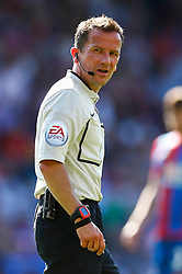 referee Mr K Stroud - Mandatory byline: Jason Brown/JMP - 07966386802 - 22/08/2015 - FOOTBALL - London - Selhurst Park - Crystal Palace v Aston Villa - Barclays Premier League