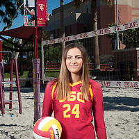 USC Beach Volleyball 2016 | New Faces