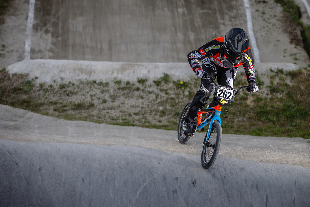 #262 (SCHUNCK Kevin) SUI during round 4 of the 2017 UCI BMX  Supercross World Cup in Zolder, Belgium.