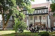 Schloss Herzberg, Herzberg am Harz, Niedersachsen, Deutschland.| .Herberg castle, Herzberg am Harz, Lower Saxony, Germany.
