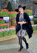 6-1-2016 LISSE  - Queen Maxima is Wednesday January 6, 2016 attended the presentation of the Horticultural Entrepreneur Award 2016 in the Keukenhof in Lisse. It is the 30th time that the prize is awarded. The meeting will focus on 'Future proof Enterprise. netherlands COPYRIGHT ROBIN UTRECHT<br /> 6-1-2016 LISSE - Koningin Maxima is woensdagmiddag 6 januari 2016 aanwezig bij de uitreiking van de Tuinbouw Ondernemersprijs 2016 in de Keukenhof in Lisse. Het is de 30e keer dat de prijs wordt uitgereikt. De bijeenkomst staat in het teken van &lsquo;Future proof Ondernemen&rsquo;. COPYRIGHT ROBIN UTRECHT