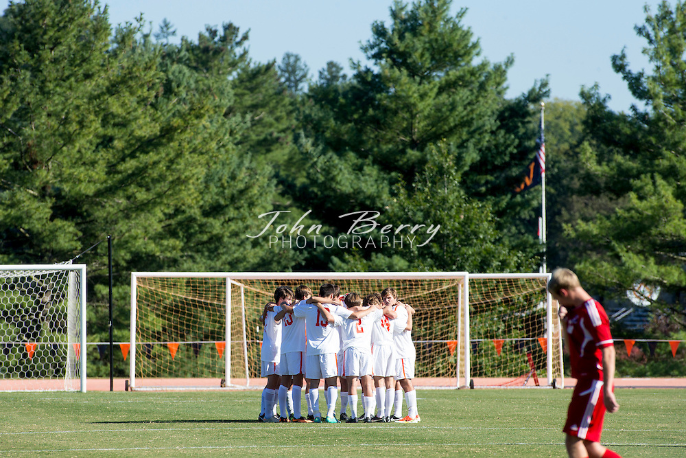 September/24/13:   Woodberry Forest School Varsity Men's Soccer vs Liberty Christian Academy.