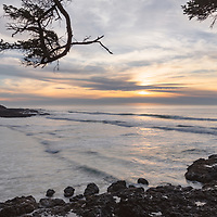 Sunset at Cape Perpetua, Oregon