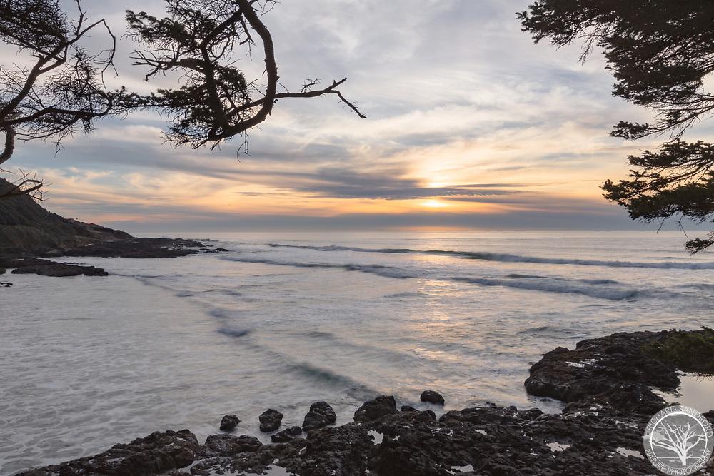 Sunset at Cape Perpetua, Oregon