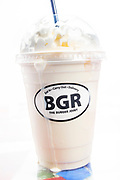 A vanilla shake at BGR The Burger Joint