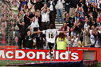 Photo: Kevin Poolman.<br />Derby County v Southend United. Coca Cola Championship. 30/09/2006. Arturo Lupoli (Derby) celebrates his goal and Derby's first.