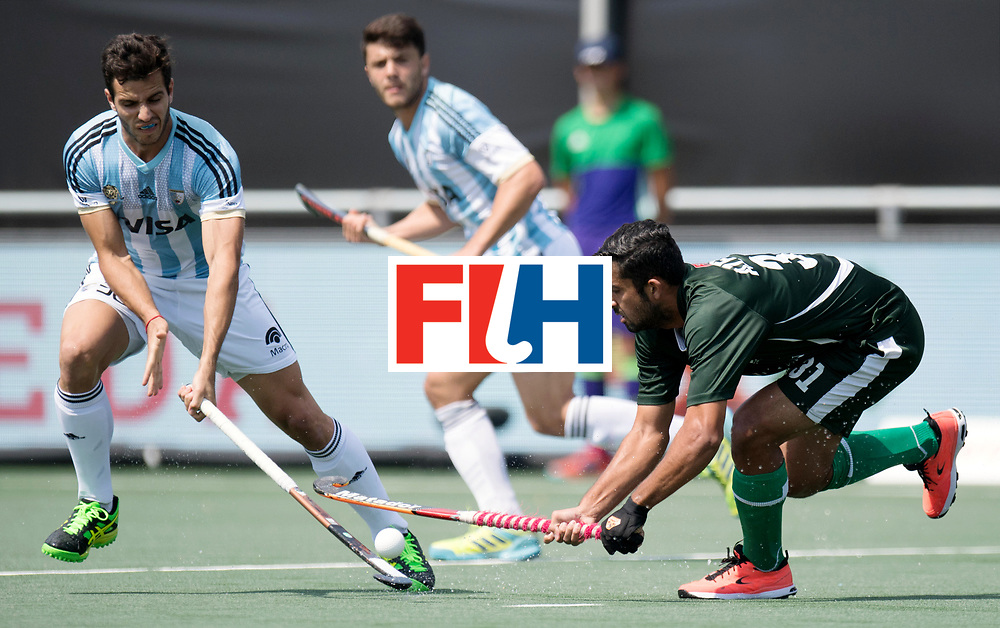 BREDA - Rabobank Hockey Champions Trophy<br /> Argentina - Pakistan<br /> Photo: YAQOOB Muhammad.<br /> COPYRIGHT WORLDSPORTPICS FRANK UIJLENBROEK