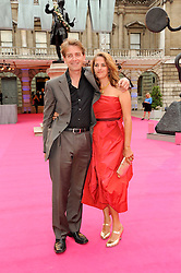 TRACEY EMIN and SCOTT DOUGLAS at the Royal Academy of Arts Summer Party held at Burlington House, Piccadilly, London on 9th June 2010.