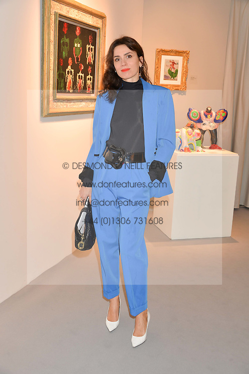 LARA BOHINC at the PAD London 10th Anniversary Collector's Preview, Berkeley Square, London on 3rd October 2016.