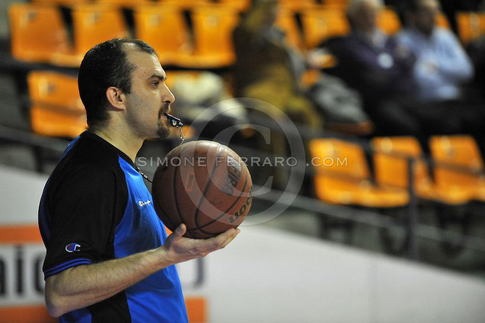 Udine, 30/01/2011..PalaCarnera. Campionato di Basket LegaDue 2010/11. Regular Season. .Snaidero Udine vs Prima Veroli..Nella foto: Claudio Di Toro..Foto di Simone Ferraro