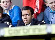 Rangers' Darren Cole - Scotland v Holland - UEFA U21 European Championship qualifier at St Mirren Park..© David Young - .5 Foundry Place - .Monifieth - .Angus - .DD5 4BB - .Tel: 07765 252616 - .email: davidyoungphoto@gmail.com.web: www.davidyoungphoto.co.uk