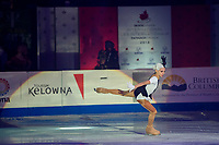 KELOWNA, BC - OCTOBER 24:  Ladies gold medalist, Alexandra Trusova of Russia performs in the gala of Skate Canada International at Prospera Place on October 24, 2019 in Kelowna, Canada. (Photo by Marissa Baecker/Shoot the Breeze)