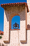 Bell at Scottys Castle, Death Valley National Park. California