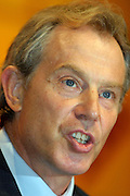 Tony Blair, MP Prime Minister..© Martin Jenkinson, tel 0114 258 6808 mobile 07831 189363 email martin@pressphotos.co.uk. Copyright Designs & Patents Act 1988, moral rights asserted credit required. No part of this photo to be stored, reproduced, manipulated or transmitted to third parties by any means without prior written permission