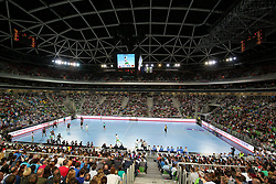 View of arena during handball match between National Teams of Slovenia and Germany in 2018 Men's World Championship Qualifications, on May 3, 2017 in SRC Stozice, Ljubljana, Slovenia. Photo by Morgan Kristan / Sportida