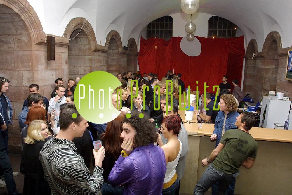 Mannheim. Katakomben. Avantgardeparty<br /> <br /> Bild: Pro&szlig;witz