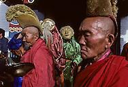 Mongolia. Ulaanbaatar. A military parade for the Mongolian national holiday at Sukhe Bator Square in Ulan Bator.     /  Défilé du 11 juillet. /  La grande fête sportive du Naadam commence officiellement le matin par un défilé militaire sur la place SUKBAATAR. Le Président ORCHIBAT lui-même y assiste et y fait une allocution. Quelques divisions d'infanterie de l'armée de terre participent à cet événement dans une formation impeccable, au son de la fanfare militaire. Au passage devant la tribune officielle, les têtes se tournent, les gradés saluent. (OULAN BATOR  /   184    P0002678