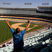 A Day at Dodger Stadium: Where is Everyone?