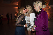 MAGDALENA GABRIEL; LADY VICTORIA HERVEY; ELLEN VON UNWORTH , Serpentine Gallery and Harrods host the Future Contempories Party 2016. Serpentine Sackler Gallery. London. 20 February 2016
