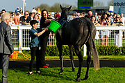 Little Boy Blue ridden Ryan While and trained by Bill Turner - Ryan Hiscott/JMP - 19/04/2019 - PR - Bath Racecourse- Bath, England - Race 7 - Good Friday Race Meeting at Bath Racecourse