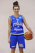ROMA 13 DICEMBRE 2011<br /> NAZIONALE FEMMINILE UNDER 18 LAZIO BASKET<br /> NELLA FOTO FRANCESCA SANTARELLI<br /> FOTO CIAMILLO