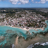 Lagon de Sainte Anne en Guadeloupe