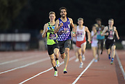 May 3, 2018; Stanford, CA, USA; Ryan Martin wins the 800m in 1:47.26 during the Payton Jordan Invitational at Cobb Track &  Angell Field.